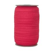 100 Yards of Hot Red 1.6cm Fold Over Elastic - ElasticByTheYardTM