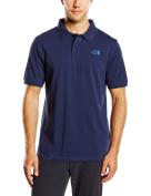 North Face Piquet Polo Shirt Cosmic Blue