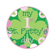 Mumsy Goose Baby Girl My First St. Patricks Day Sticker