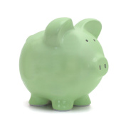 Child to Cherish Piggy Bank, Sage