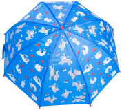 Kids Umbrella - Childrens 46cm Rainy Day Umbrella - Raining Cats and Dogs