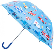 Kids Umbrella - Childrens 46cm Rainy Day Umbrella - Emergency Vehicles