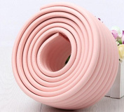 TTBOO Edge Guard & Corner Bumpers for Baby Proofing - Easy to Instal, Extra Long Corner Cushion Bumper, More Dense Edge Protector to Absorb Impact, Protect Your Loved Ones,Pink