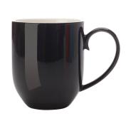 Maxwell & Williams Colour Basics Black Coupe Mug 350ml