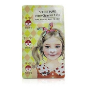 Secret Pure Nose Clear Kit 1.2.3, 10pcs