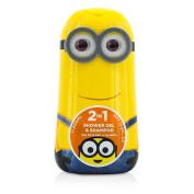 Minions (Kevin) 2 In 1 Shower Gel & Shampoo, 400ml/13.5oz