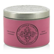 Tin Can Highly Fragranced Candle - Champagne Rose (Pink Can), (1.5x3) inch
