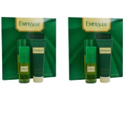Emeraude Women's Cologne Spray & Body Lotion Gift Set