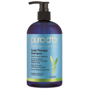 Pura D'or Argan Oil 470ml Scalp and Dandruff Therapy Shampoo