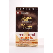 Clairol Natural Instincts Brass Free Brunettes # 5C Medium Brown Hair Colour
