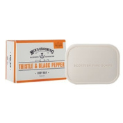 The Scottish Fine Soaps Company Mens Grooming Thistle & Black Pepper Body Bar