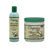 Originals Olive Oil Shampoo & Olive Oil Deep Conditioner DUO PACK - great for itchy scalp, and treats damaged and weak hair types
