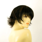 short wig for women 100% natural hair chocolate brown ref DIANA 1b30