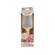 The Vintage Cosmetic Company Paddle Hair Brush, Soft Cream Rectangular