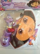 Dora the Explorer Water Time Adventure Bath Toy - Puzzle and 2 Squirt Toy