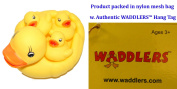 Rubber Ducks Bright Yellow Family Set of 4, Waddlers Brand Toy Bathtub Rubber Ducks Family That Squeak, Baby Shower Birthday Toy Gift, All Depts. Mother's Day & Family Favour Gift