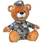 Musical Military Bear