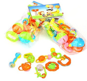 8pcs Baby Toys Ring the Bell By Marljohns