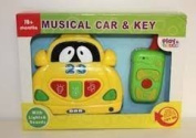 Musical Car and Key