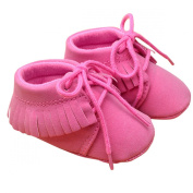 Baby Girl Spring Autum Warm Cute Shoes Toddler Soft Sole Frenum Tassels Walking Shoes