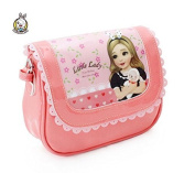 Hollwald.Doll Messenger Bag Cartoon PU Patent Leather Crossbody