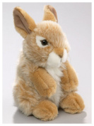 Soft Toy Rabbit Bunny standing creme, 18cm. [Toy]