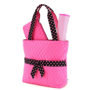 Quilted Solid Nappy Bag /W Changing Pad