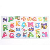 Linkings Alphabet & Animals Wall Stickers