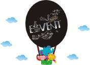 Good Life Monkey Elephant Lion Fire Balloon Blackboard Wall Decal Nursery Room Wall D¨¦cor