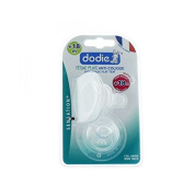 Dodie Sensation+ 2 Flat Teats Anti-Colic Large Neck +18 Months Fast Flow