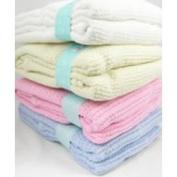 Baby Basics Cellular Pram Blanket - Baby Blue