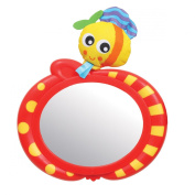 Playgro Travel Bee Car Safety Mirror for Baby