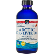 Nordic Naturals - Arctic CLO, Heart and Brain Health, and Optimal Wellness, Strawberry 240mls