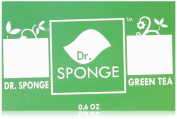Dr Sponge Facial and Body Cleansing Sponge, Green Tea