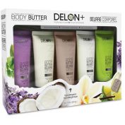 Delon Intense Moisturising 5-piece Body Butter Gift Set