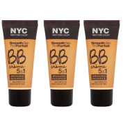 N.Y.C. New York Colour BB Creme Foundation Bronze