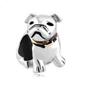 Lucky Charms Cute Puppy Pet Pug Dog Animal Charm Cheap Sale Fit Pandora Charm Bracelet