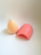 Silicone MakeUp Brush Cleaner and Beauty Blender Buffing Sponge Bundle
