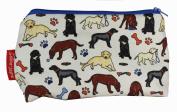Selina-Jayne Labrador Dogs Limited Edition Designer Cosmetic Bag