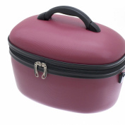 Davidt's Hard Shell Raspberry Red Vanity Case