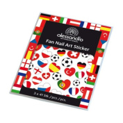 alessandro International Fan Nail Art Sticker