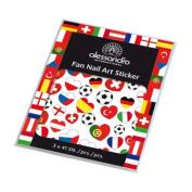 alessandro International Fan Nail Art Sticker