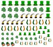 St Patricks day Nail Decals Art Ireland