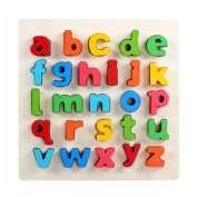 Colourful Wooden Handcraft Letter Toy Shape/Colour Toy Infants Kids Toy Fancy toy