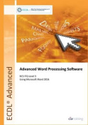 ECDL Advanced Word Processing Software Using Word 2016
