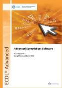 ECDL Advanced Spreadsheet Software Using Excel 2016