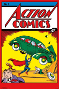 Poster - Action Comics #1 New Wall Art 60cm x 90cm rp13753