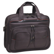Traveller's Club Flex-File 43cm Briefcase with 33cm Laptop Compartment