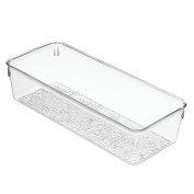 InterDesign Rain Grand Tray, Clear