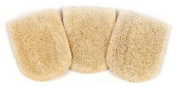 Loofah Savannah Mini Facial Mitt Pack of 3